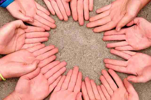 Charity-Hands